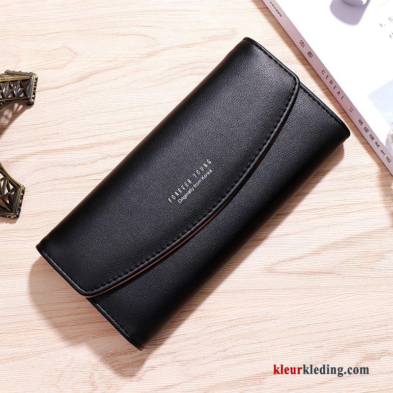 Portemonnee Dames Vintage.Dames Nieuw Telefoon Vintage Portemonnee Lange Leer Tas Mode Rood Sale