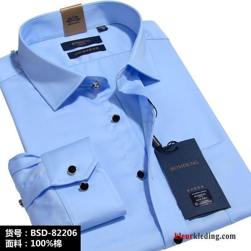 Effen Rood Overhemd Heren.Lange Mouwen Mannelijk Heren Herfst Overhemd Effen Kleur Rood