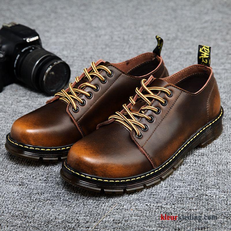 Werkschoenen Laarzen.Heren Laarzen Waterdicht Werkschoenen Outdoor Echt Leer Brits