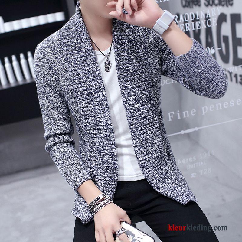 Heren Trui Grijs.Heren Trui Grijs Mannelijk Jas Mode 2018 Jeugd Jack Jasje Sale