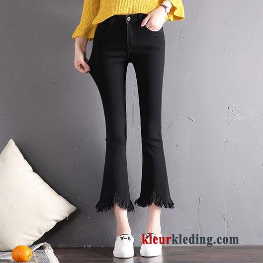 spijkerbroek met elastiek dames