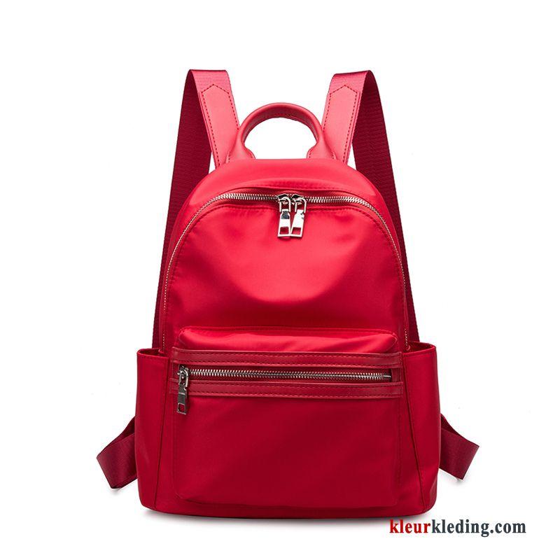 be8a5f488e8 Rugzak Nieuw Moeder Oxford Tas Schooltas Mode Doek Dames Rood Kopen